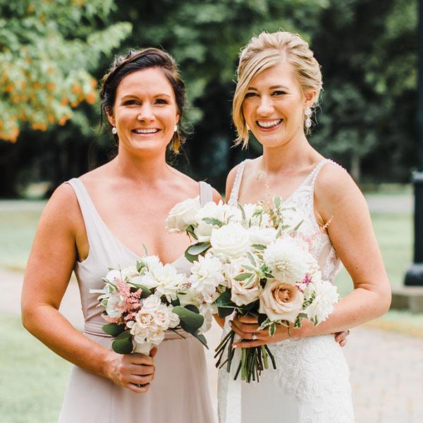 Ottawa Wedding Hair Testimonial - Katie S bridal updo classic