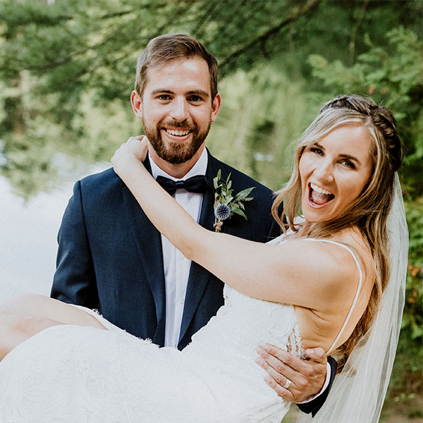 Ottawa Wedding Hair Testimonial - Megan K half updo with braids boho